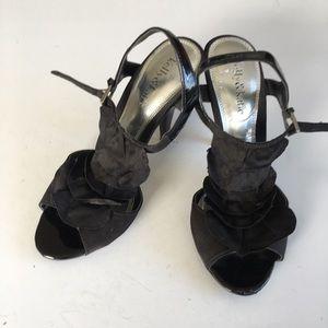 Kelly& Katie Heeled peep toe sandals shoes